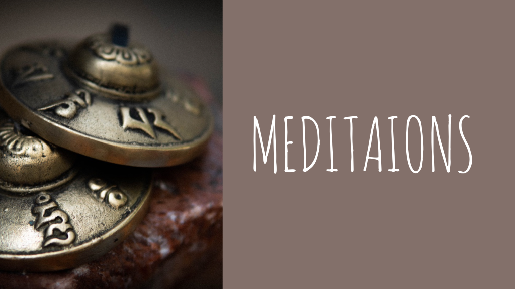 With Intentions Meditations